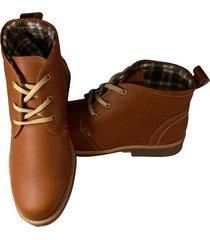 súper promoción zapato hombre botín botines cuero 100%