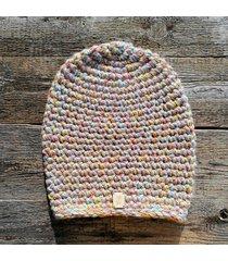 czapka #niebieski #różowy #żółty