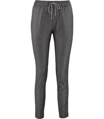 fabiana filippi wool tapered-fit trousers