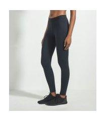 calça legging esportiva com elástico no cós | get over | preto | g