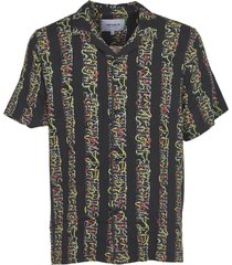 carhartt black print shirt