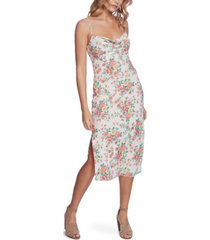 1.state bouquet printed midi dress