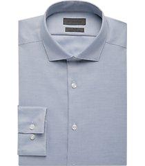 calvin klein infinite blue dot slim fit dress shirt