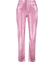 dolce & gabbana boyfriend jeans with patch