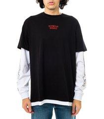 octopus t-shirt uomo bandana logo l/s 21sols14