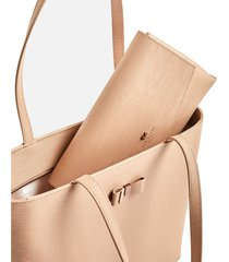 ted baker women's deannah tote bag - taupe