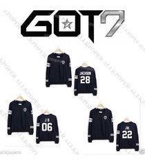 kpop got7 sweater jackson pullover unisex hoodie jumper bambam jb jr mark