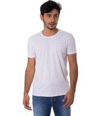 camiseta osmoze gola careca z 110112805 branco - branco - pp - masculino