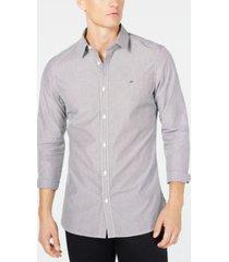 calvin klein men's extra-fine cotton slim-fit shirt