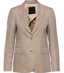 6669 ww - ginette pointy 1/2 blazers business blazers beige sand