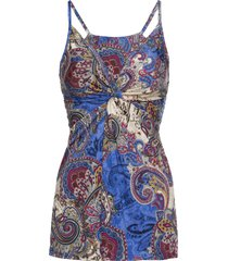 top fantasia con spalline sottili (blu) - bodyflirt boutique