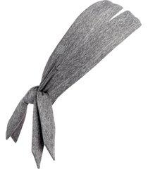 zella restore soft knot headband in grey shade at nordstrom
