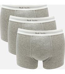 ps by paul smith men's 3 pack boxer briefs - grey - xl