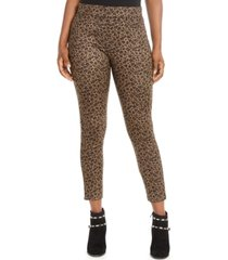 thalia sodi leopard-print leggings, created for macy's