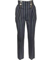 elisabetta franchi cigarette trousers