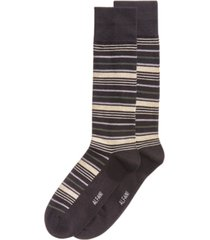 alfani men's variegated stripe dress socks, created for macy's