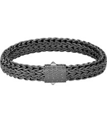 'classic chain' sterling silver bracelet