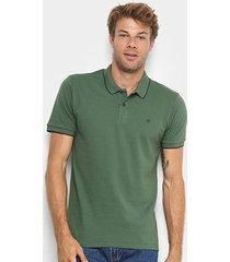 camisa polo forum contornos masculina