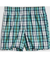 boxer cuadros verde gap