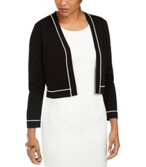 karl lagerfeld open-front shrug cardigan