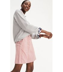 tommy hilfiger women's corduroy mini skirt bridal rose - 10