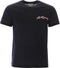 alexander mcqueen t-shirt with embroidered logo