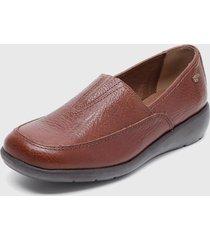 zapato casual plano marrón 16hrs