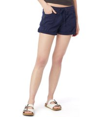 unionbay christy solid convertible shorts