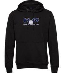 absalon hooded sweat hoodie trui zwart h2o