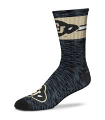 for bare feet byu cougars first string crew socks