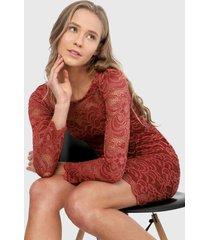 vestido rojo ambiance