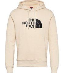m lt drew peak po hd hoodie trui beige the north face