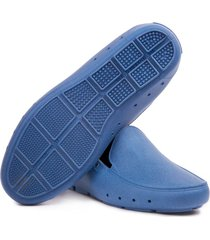 mocasin stretch unisex reciclable vegano azul imperial