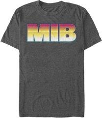 fifth sun men's retro gradient logo short sleeve t- shirt