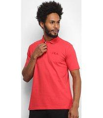 camisa polo fila select masculina - masculino