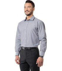 camisa formal texturada gris arrow