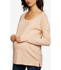 a pea in the pod maternity pocket t-shirt