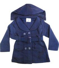 blusa casaco moletom flanelado grosso bebe infantil 1, 2 e 3 azul