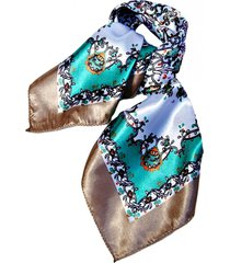 pañuelo bandana flores beige viva felicia