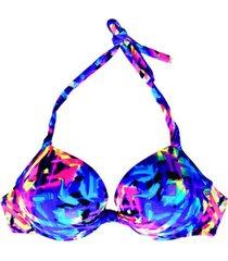 bikini estilo sostén clásico estampado samia