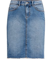 jeanskjol onleliza reg raw edge skirt 08