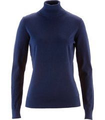 pullover dolcevita (blu) - bpc selection