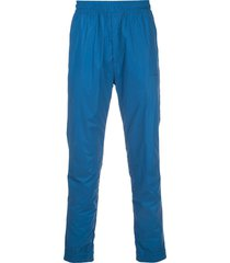 givenchy coated track pants - blue