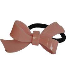 elástico acrílico ania store laço rosa