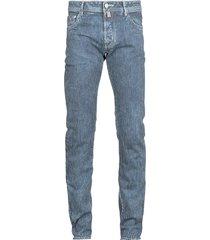 jacob cohen cotton stripe jeans