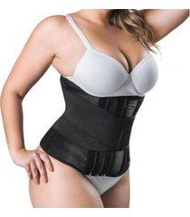 cinta modeladora hidrolight slim waist - feminino
