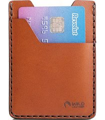 minimalistyczny portfel z naturalnej skóry chudy