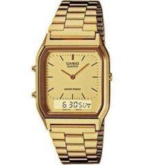 reloj aq-230ga-9d casio dorado
