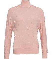 maglione in filato fine con perle (rosa) - bodyflirt