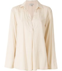 alcaçuz akahana viscose blouse - neutrals